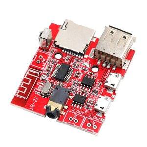 Bluetooth Mp3 декодер модуль аудио приемник плата автомобильный динамик усилитель модифицированный Bluetooth 4,1 монтажная плата поддержка u-диска/Tf