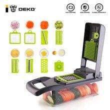 DEKO coupe légumes trancheuse de fruits multifonctionnel pomme de terre éplucheur carotte râpe ail broyeur accessoires de cuisine