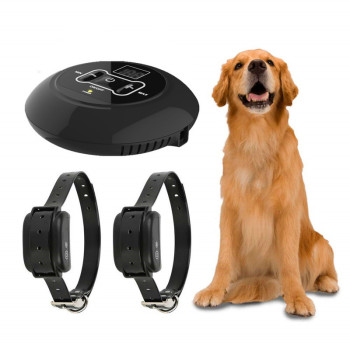 Wodoodporne ogrodzenie dla psa elektryczne ogrodzenie dla zwierząt elektryczne ogrodzenie bezpieczeństwa dla psa ogrodzenie elektryczne kołnierz promień 500m bezprzewodowe ogrodzenie elektryczne dla psów tanie i dobre opinie Sprzęt do ćwiczenia zwinności Dog Fence Electric 0~100 levels Rechargeable about 25-75cm US EU AU UK plug High Quality