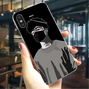 Scarlxrd J Bad boy Жесткий Чехол для iPhone 6 Гибридный чехол для телефона iPhone 6 Plus 6S 7 8 X Xs Max XR 5 5S SE задняя крышка