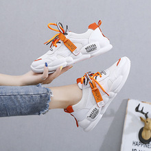 Luxury Brand Sneakers Women Flats White Shoes Woman Platform Shoes Fashion Mesh Breathable Lace-up Zapatos De Mujer High Quality 2020 summer new women shoes fashion sneakers mesh breathable flats shoes woman lace up shallow zapatos de mujer ladies shoes