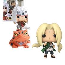 POP KAKASHI JIRAIYA EM SAPO #73 TSUNADE Naruto Shippuden KAGUYA com box Action Figure Collectible Modelo brinquedos para chlidren