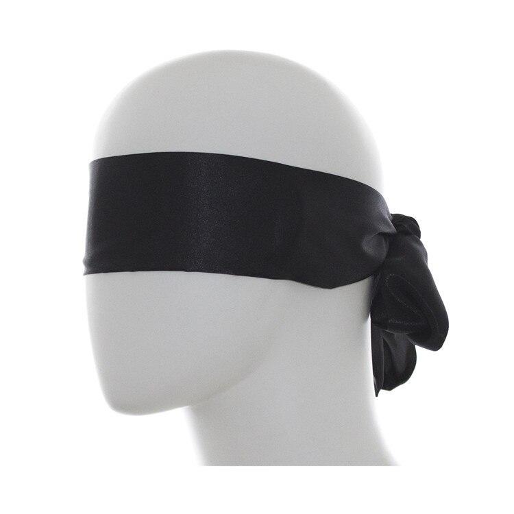 New Woman Roleplay Blindfold BDSM Bondage Erotic Sex Toys Black Shield Light Sleeping Eye Mask Restraint Sex Accessories
