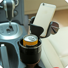 Car shape bracket drinking water bottle sunglasses mobile st