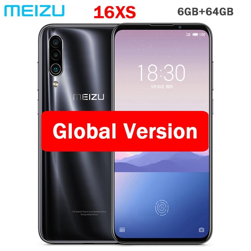 """Version mondiale Meizu 16XS 64GB ROM 16 XS téléphone intelligent Snapdragon 675 6.2 """"48MP Triple caméra AI avant 16MP 4000mAh blueooth-in Mobile Téléphones from Téléphones portables et télécommunications on AliExpress - 11.11_Double 11_Singles' Day 1"""