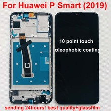 Original AAA for Huawei P Smart 2019 LCD Display Digitizer Assembly Touch Screen with frame for POT LX1 P Smart 2019 Repair Part