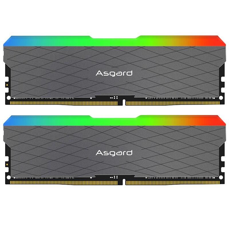 Asgard Loki w2 RGB 8GB * 2 3200MHz DDR4 DIMM 288 broches XMP Memoria Ram ddr4 ordinateur de bureau de mémoire Ram pour jeux d'ordinateur double canal