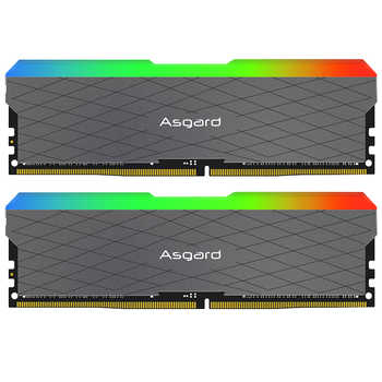 Asgard Loki w2 RGB 8GB*2  3200MHz DDR4  DIMM 288-pin XMP Memoria Ram ddr4 Desktop Memory Rams for Computer Games dual channel - DISCOUNT ITEM  0% OFF All Category