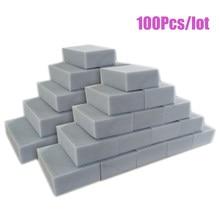 100 pçs/lote Esponja Mágica Melamina Esponja de Borracha Cinza Branco Limpador Multi-funcional 10x6x2 centímetros Esponjas de Limpeza Ferramentas de Limpeza