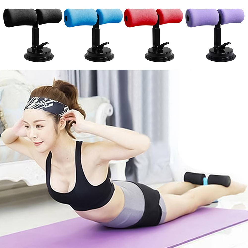 Adjustable Waist Belly Training Gym Abdominal Curl Exercise Sit-up Push-ups Assistant Device Ab Rollers Home Fitness Equipment
