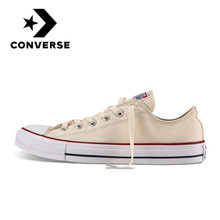 Original Converse ALL STAR Low To Help Skateboarding Shoes Canvas Man's or Woman's Classic Fashion Comfortable Sneakers 1Z632(China)