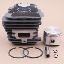 цена на Cylinder Piston Ring Clips Kit 45mm for EMAK OLEO MAC 952 EFCO 152 50082012 Chainsaw Spare Parts Garden Tools