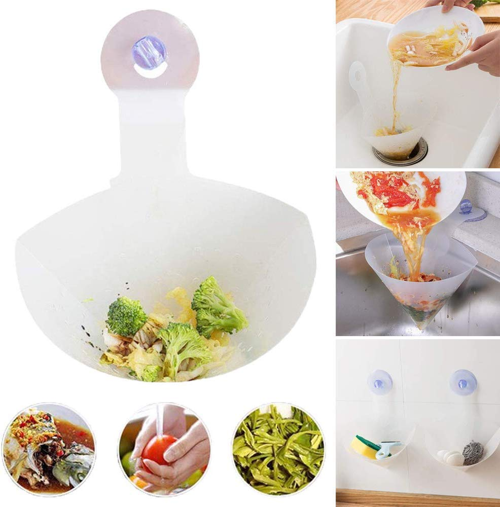 Drain Hair Catcher Stopper Laundry Bathtub Shower Drain Hole Filter Trap Cocina Sink Strainer Bathroom Kitchen Accessories
