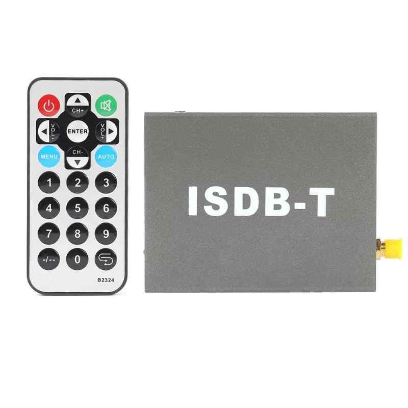 سيارة الرقمية مستقبل التلفاز T502 ISDB-T السيارات الرقمية مستقبل التلفاز مربع Seg معيار الوضوح هوائي سيارة الرقمية SDTV موالف