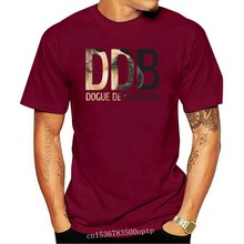 T-shirt 3D en coton pour hommes, vêtement De marque, De loisirs, à la mode, été, chien Dogue De Bordeaux, 015873