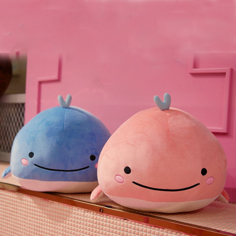 15CM plush whale soft toy super stretch aquatic animal doll cute children marine toys