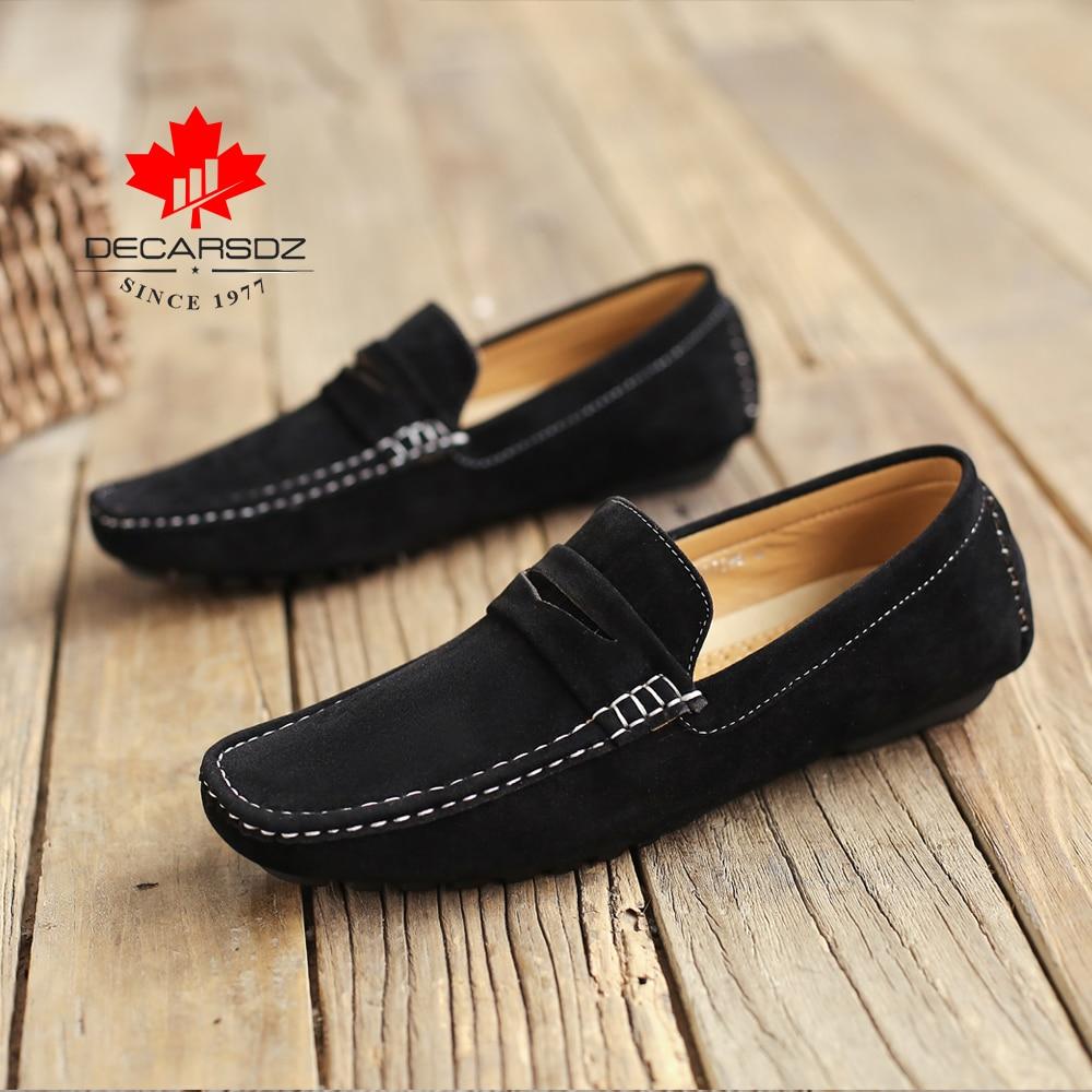 Men Boat Shoes Male Autumn Suede
