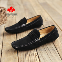 Men Boat Shoes Male Autumn Suede Moccasins Brand Slip On Drive Men Casual Shoes Men Loafers Footwear Fashion Comfy Men Shoes