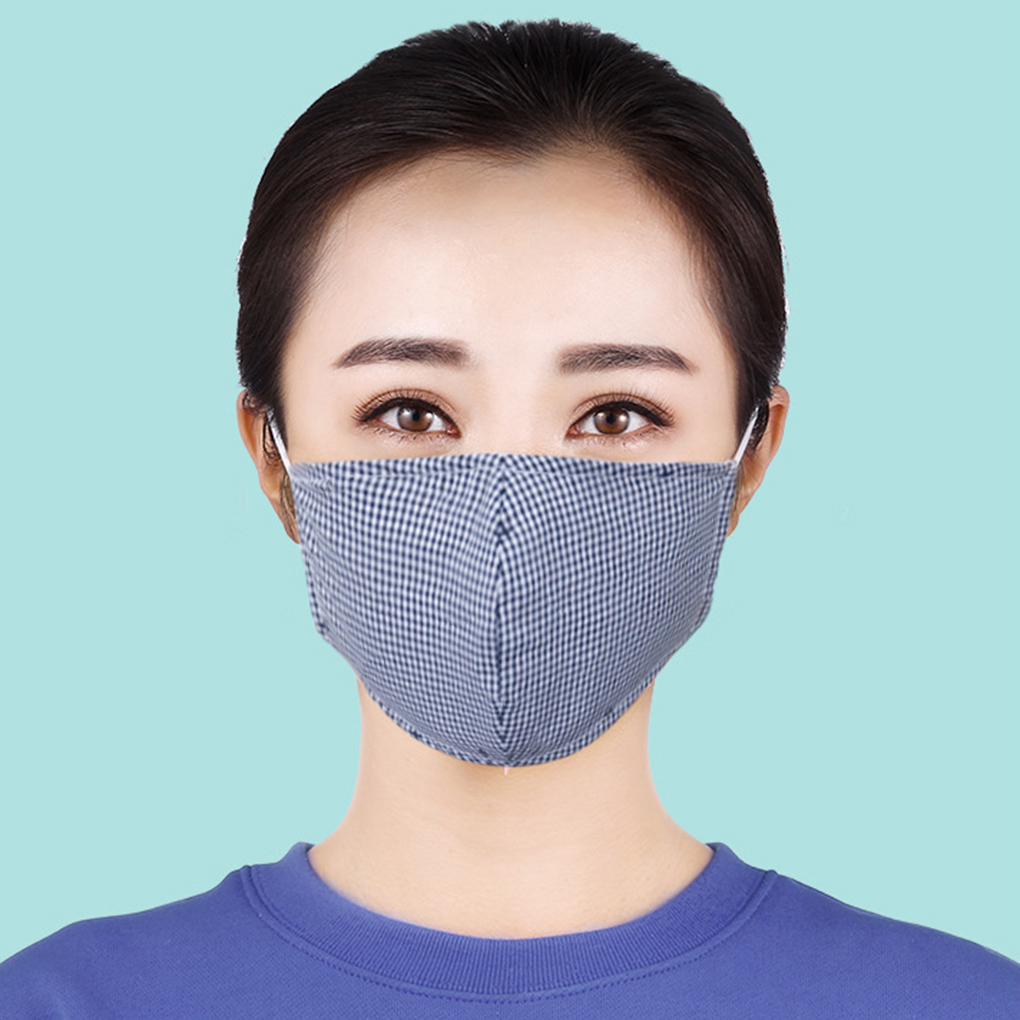 Unisex Non-woven Fabric Face Cotton Mask Dustproof Anti-haze Breathable Washable Reusable Windproof Mask