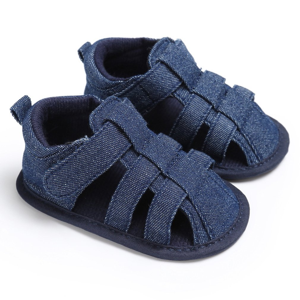 Canvas Jeans Baby Moccasins Child Summer Boys Sandals Sneakers Breathable Hollow Out Infant Baby Shoes 0-18 Month Baby Sandals