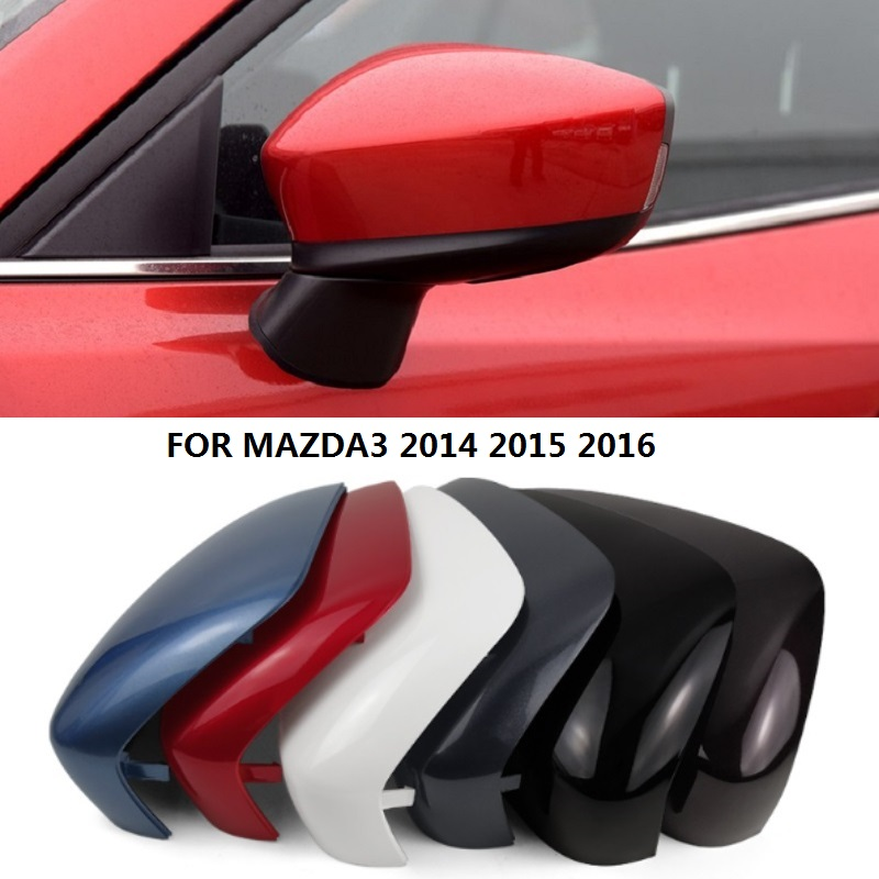 Rear View Rearview Side Mirror Cover Trim Mirror Housing Shell For MAZDA 3 2014 2015 2016 AP