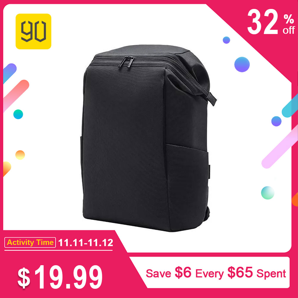 90FUN Backpack MULTITASKER Laptop 15.6 inch bag with Anti-theft Waterproof Zippers 20L Travel mochila
