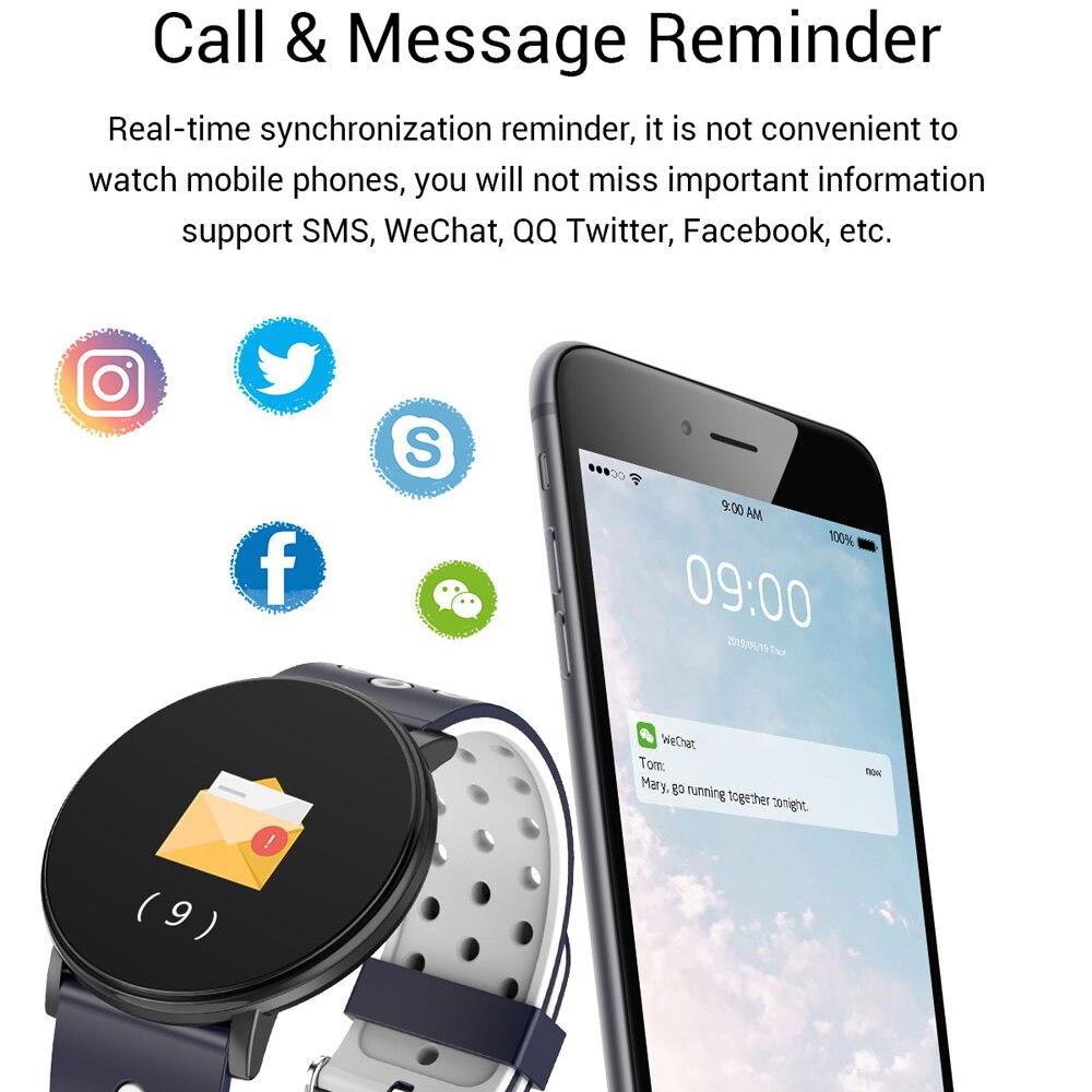 Спортивные Смарт-часы для мужчин, водонепроницаемые Смарт-часы для измерения артериального давления для женщин, монитор сердечного ритма, Bluetooth, умные часы для Android IOS