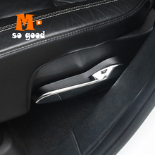 2014 2015 2016 2017 For Jeep Grand Cherokee Car Seat wrench Cover Trims Car ABS Chrome interior Styling Accessories Sticker 2014 2015 2016 2017 for jeep grand cherokee car storage box handle door bowl cover trims car abs chrome styling accessories