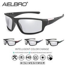 Aielbro солнцезащитные очки для езды на велосипеде фотохромные