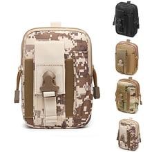 2021 New Men's Waist Bag Waterproof Waist Bag Outdoor Military Nylon Cell Phone Wallet Belt Waist Packs Travel Tool Bum Bag
