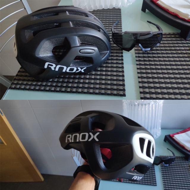 Rnox ultraleve ciclismo capacete mtb capacete à prova de chuva cidade estrada mountain bike capacete para as mulheres dos homens de corrida de reposição equipamentos 6