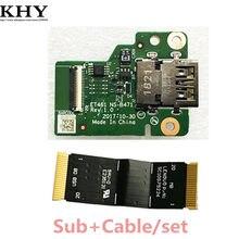 Original usb sub cartão asm com cabo para thinkpad t480s et481 NS-B471 sc10g75224 01lx990 01lx989 01er996