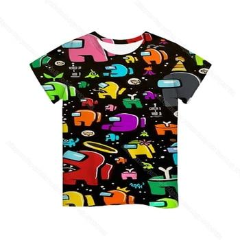 Cartoon Tee  Baby Kids Boys Girls Children Short Sleeves Summer Clothing Fashion 3d Print Toddler Camiseta 20