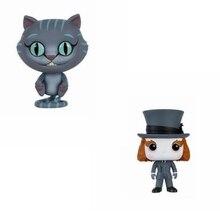 Alice in Wonderland Chessur Cat Mad Hatter Action Figures Model Toy
