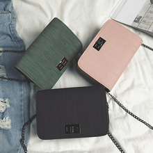 Fashion Korean Version Of The Trend Shoulder Bag Handbag Designer Version Of Luxury Wild Ladies Small Square Bag Messenger Bag world brand small bags new fashion korean version of the small square bag lock buckle handbag simple wild shoulder messenger bag