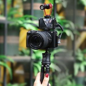 Image 3 - Uurig Camera Màn Hình Lật Giá Đỡ Với Ba Giày Lạnh Để Gắn Micro Đèn LED Video
