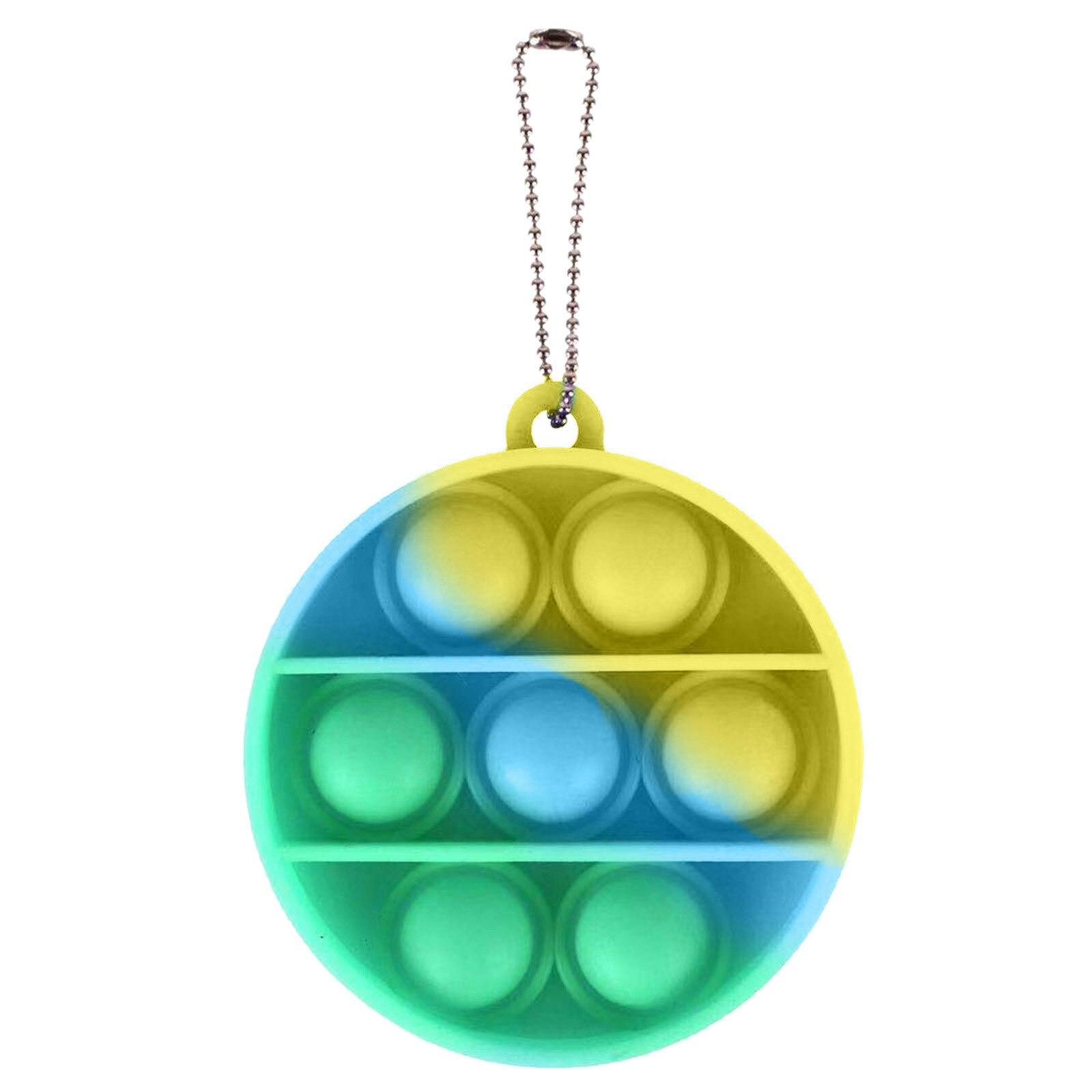 Fitget Toy Fidgets Simpel Dimpel Mini Anti-Stress-Board Pop-It-Keychain-Controller Kids img3