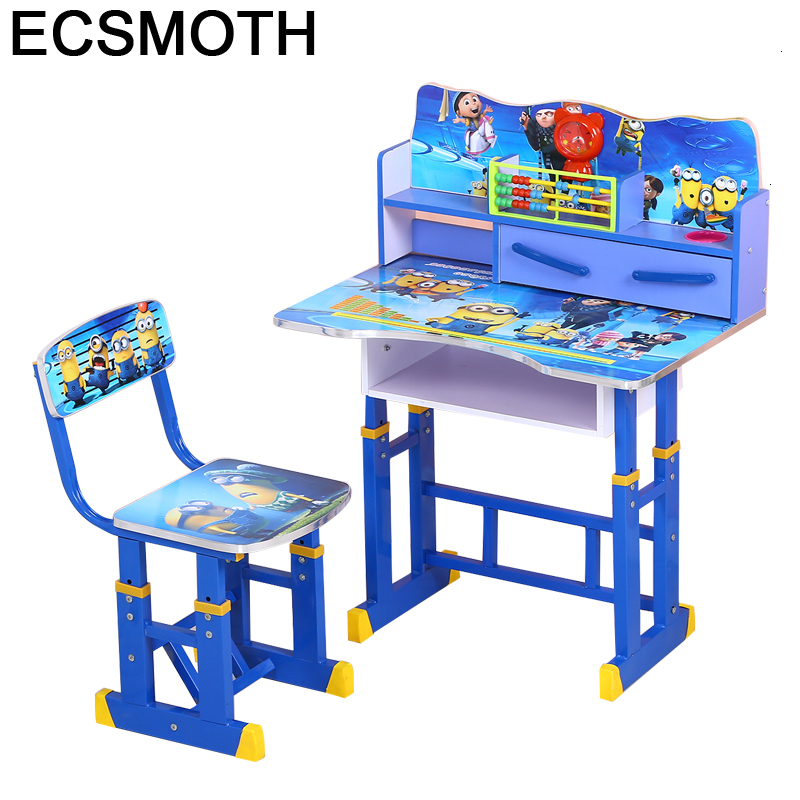 Toddler Children And Chair Scrivania Bambini Child Stolik Dla Dzieci Adjustable Mesa Infantil Enfant Kinder Study Table For Kids