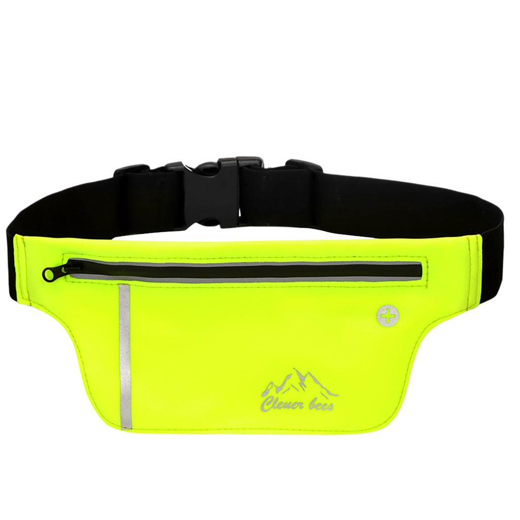 Waist Bag Fashion Running Belt Waist Pack - Phone Sports Bag - Workout Fanny Packs For Women Men Canvas сумка поясная 2020