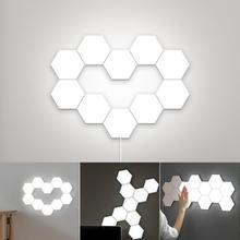 Smart Quantum lamp led modular touch sensitive lighting Hexagonal lamps night light magnetic DIY creative decoration wall lamp