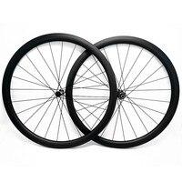 700c bicicleta de estrada rodas de disco 38x25 milímetros tubular roda disco 100x12 142x12 fechadura Central ciclo cruz disco rodas de bicicleta de estrada UD 12 3K K|Roda de bicicleta| |  -