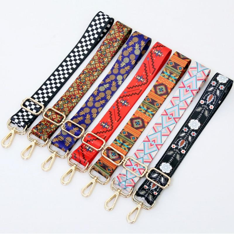 New Wide 3.8cm Shoulder Strap Adjustable Women Bag Accessories Single Shoulder Strap Cross-body Bag Long Shoulder Strap Belt
