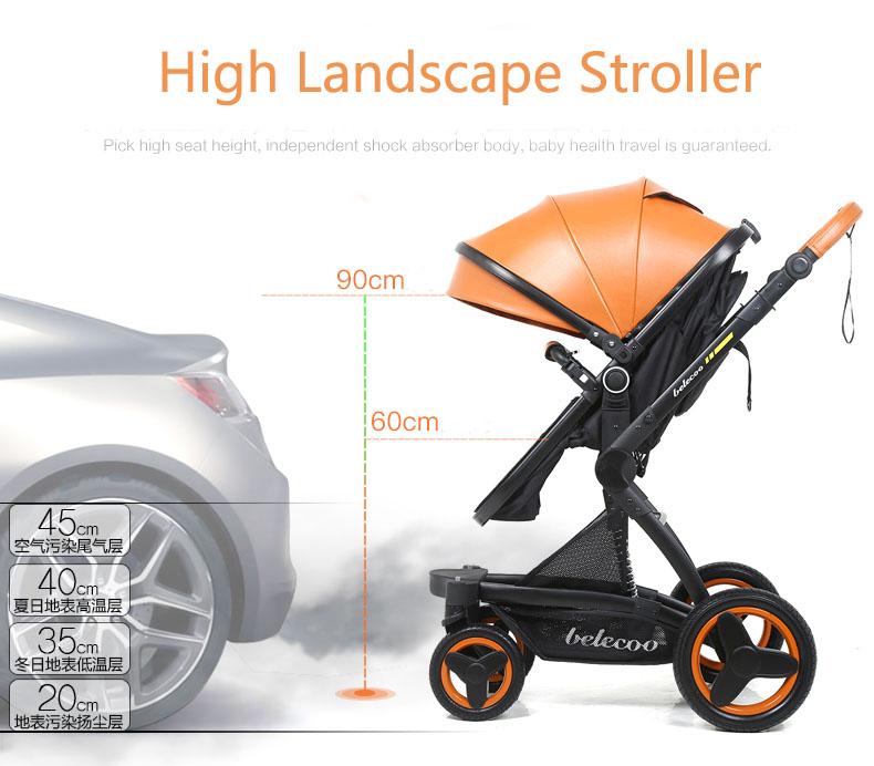 luxury baby stroller 3 in 1 (14)