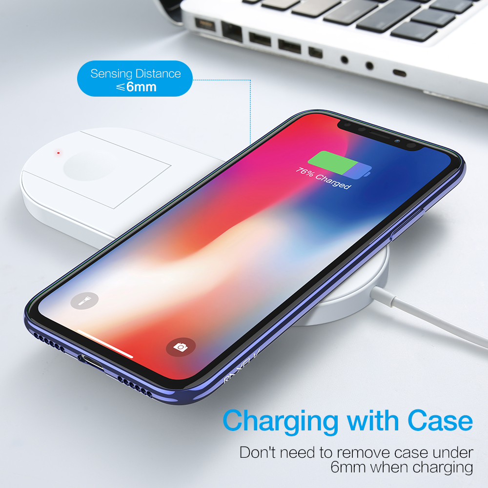 Image 5 - Wireless Charger For Samsung S10 Note 10 Plus S10 Charging Station Wireless Charging For Apple Watch iWatch 2 3 10W Qi ChargerWireless Chargers   -