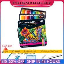 24 48 72 cor lapis cor fazer prismacolor premier lápis coloridos, lápis de desenho lightfast, lápis de cor do artista 5 extra ferramentas