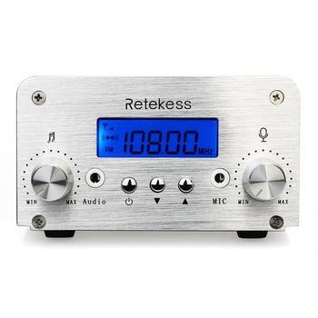 Retekess TR501 6W Wireless FM Broadcast Transmitter Radio Station+10pcs PR13 Radio for Drive-in Church Meeting Translation 3