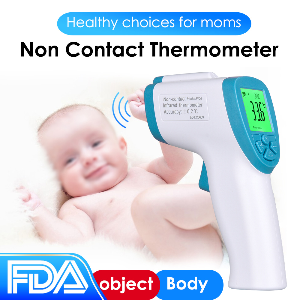 termometro digital adulto Children Non-contact forehead infrared thermometer Adult body measurement Adult Body Fever IR measure