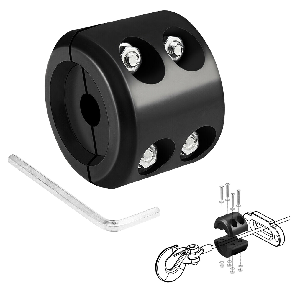 For ATV UTV Winches For Polaris RZR For Can-am X3 For Yamaha For Honda  Cable Hook Stopper Line Saver Universal Rubber Winch