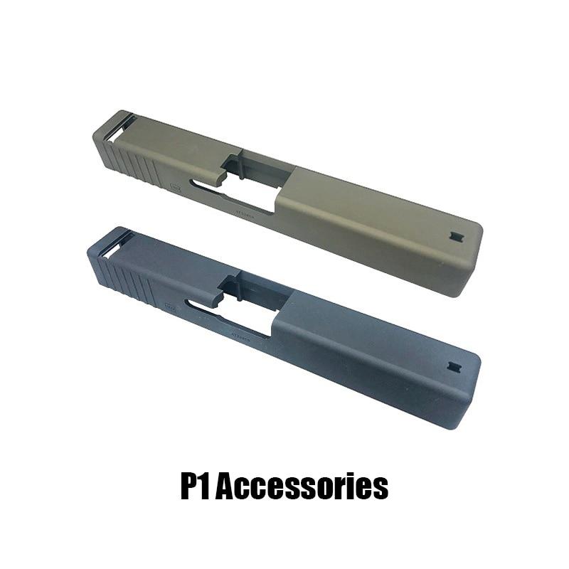 Kublai Kelly P1 Metal Slide Water Bomb Refit Strengthening Hanger Throwing Shell Hook Military Version Slide Gel Ballaccessories