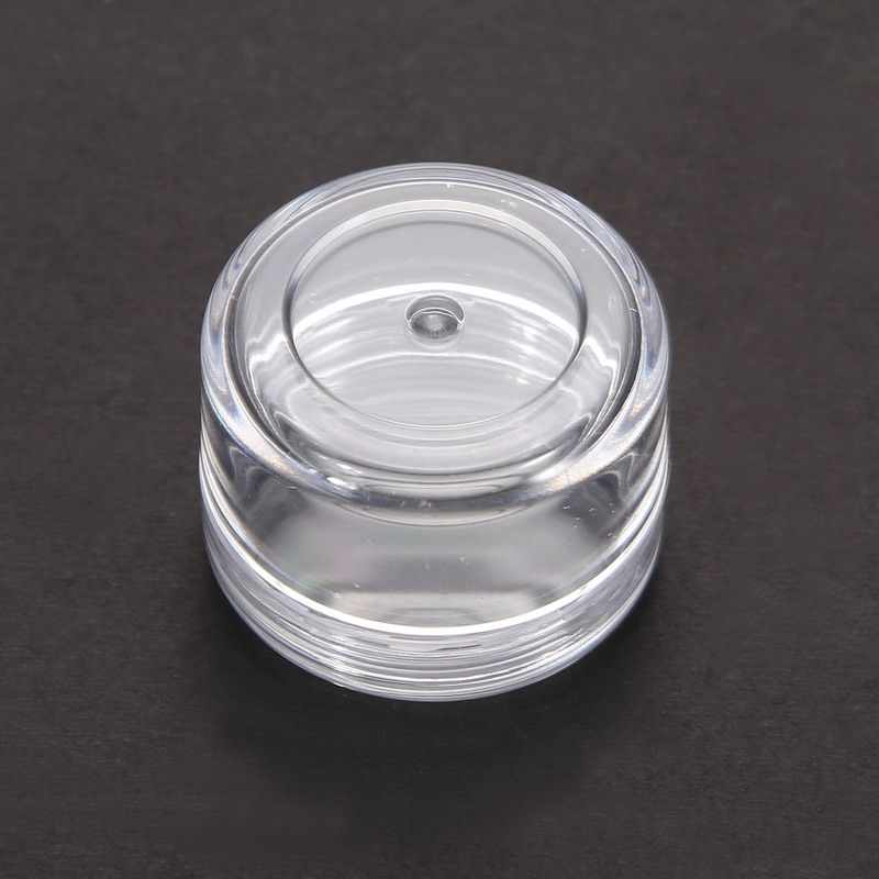 5Pcs Mini Cosmetic Empty Jar Pot Eyeshadow Makeup Face Cream Container Nail Art Cosmetic Bead Storage Pot Container